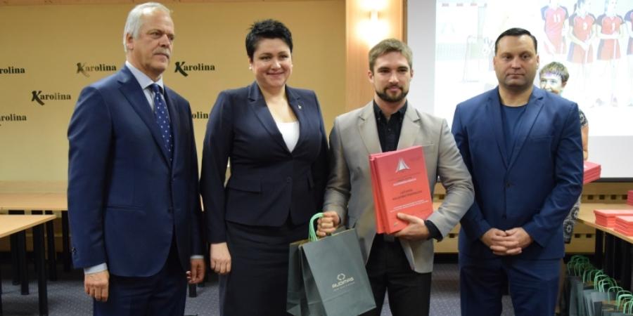 """Jaunių žaidynės: geriausia trenerė – E. Lavickienė, geriausia mokykla – """"Bangpūtys"""""""