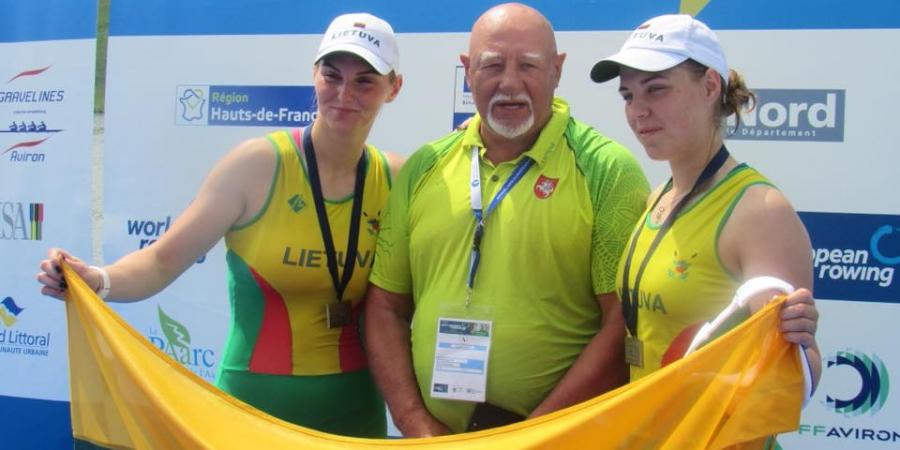Lietuvos irkluotojų pasiekimai 2018 m. Europos jaunių čempionate