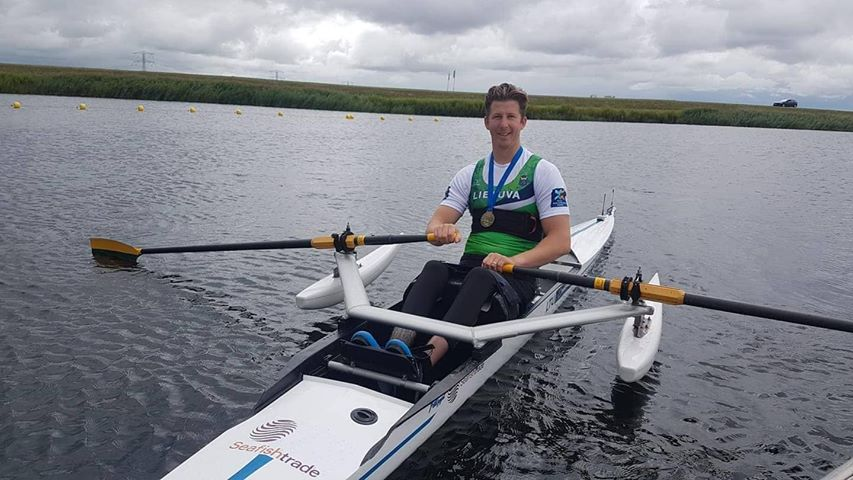 Augustas Navickas pasipuošė bronzos medaliu
