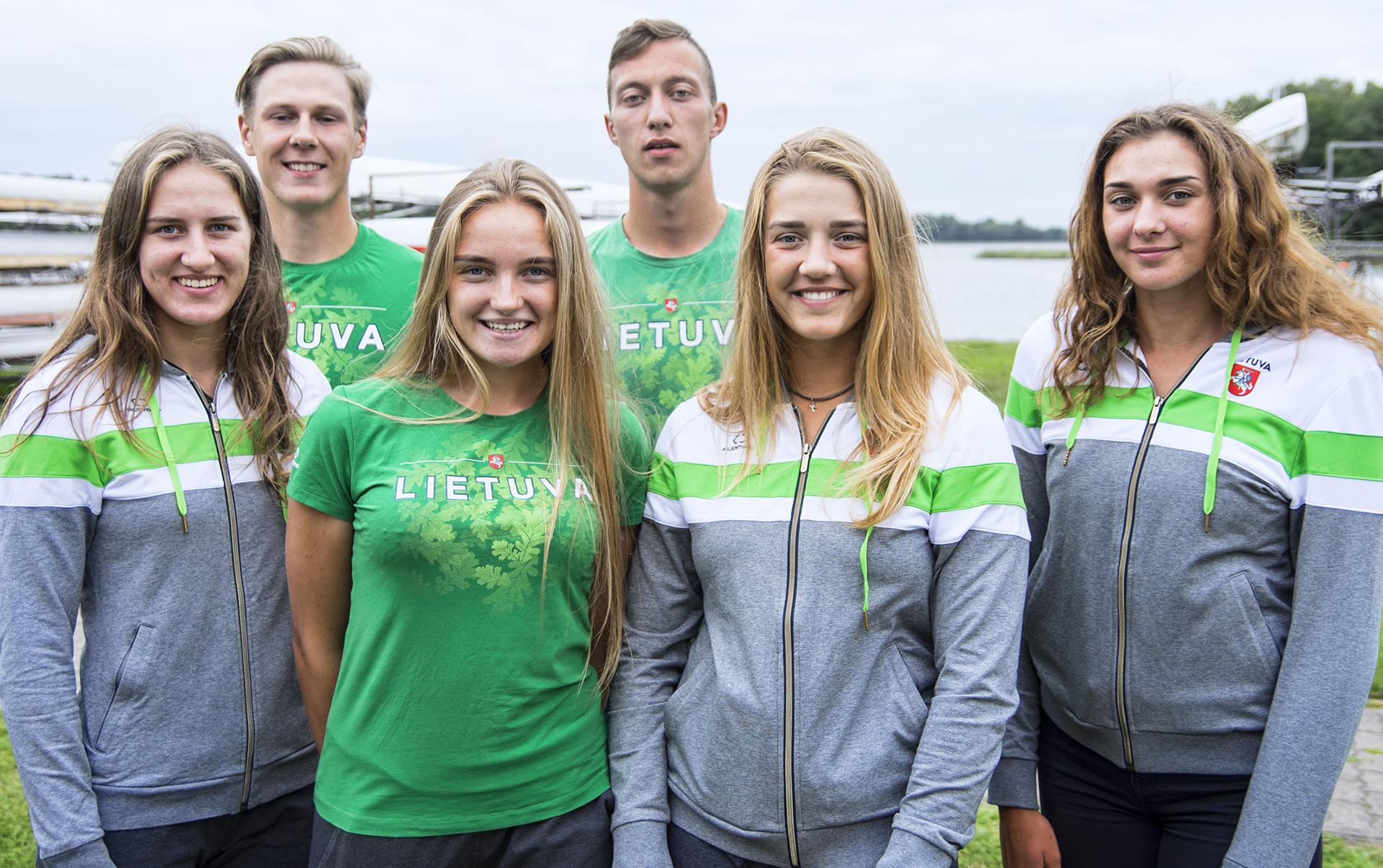 Jaunieji irkluotojai apie startus pasaulio čempionate: parodysime, ko esame verti