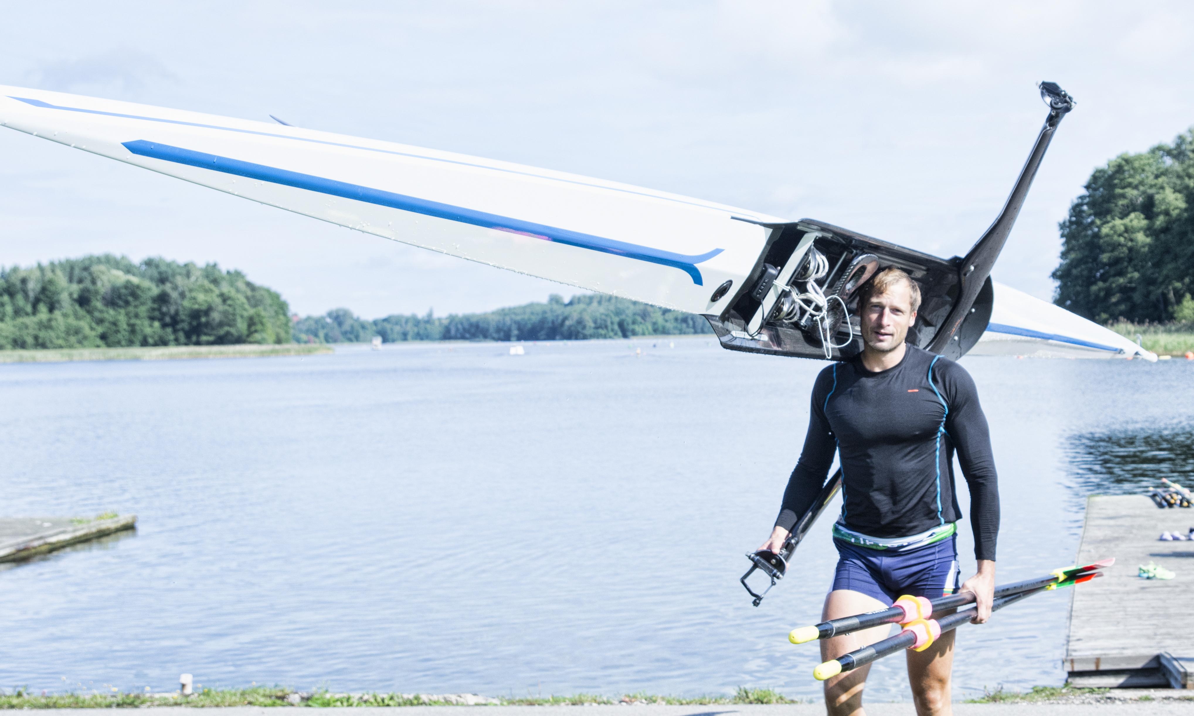 Olimpinį kelialapį iškovojęs M. Griškonis: džiaugiuosi, bet varžybos dar nesibaigė
