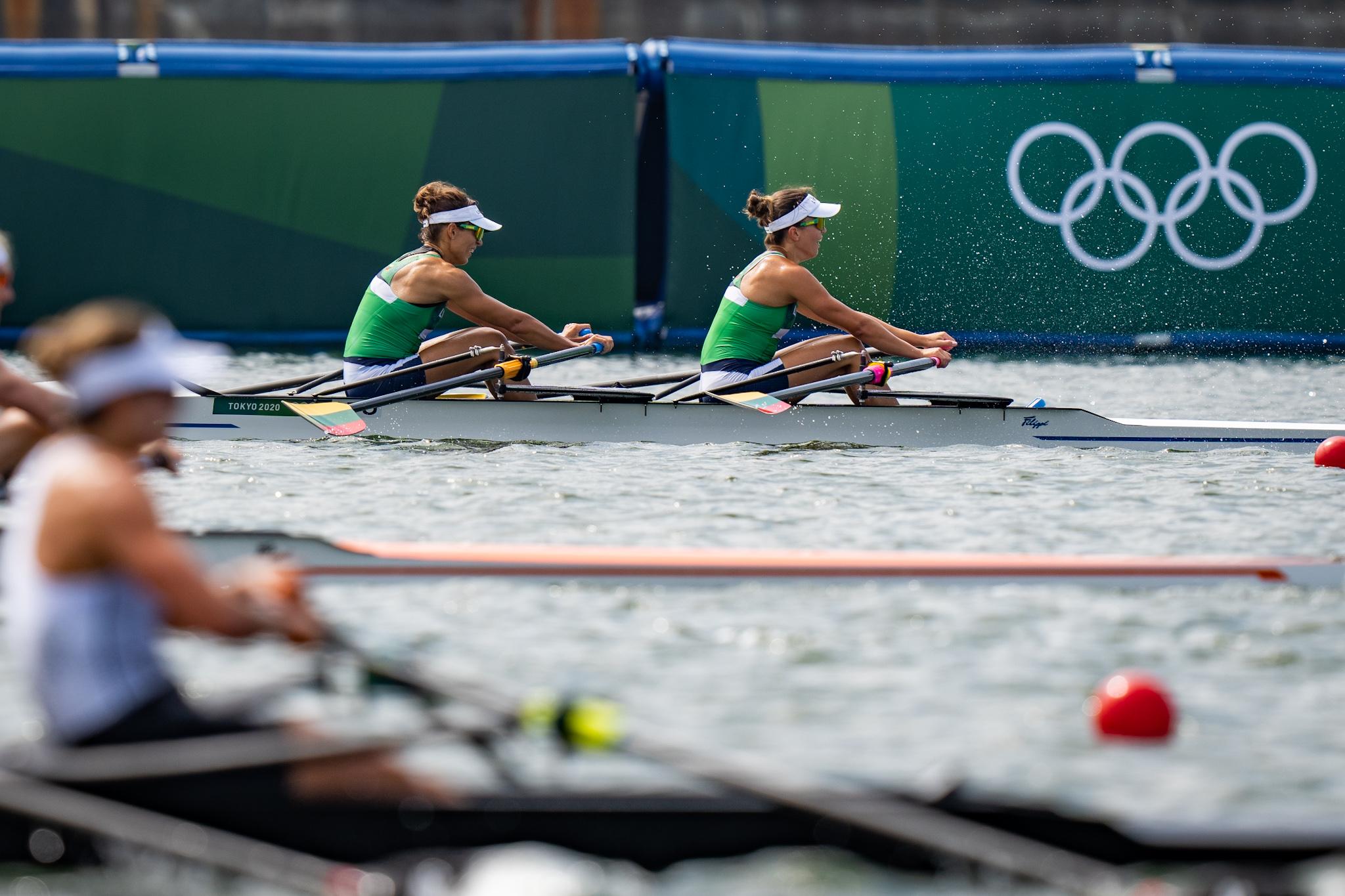 M.Valčiukaitė ir D.Karalienė – ketvirtos Tokijo olimpinėse žaidynėse